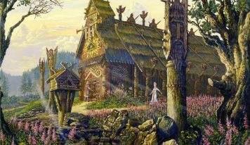 Зарождение славянской мифологии как религии